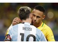 梅西、內馬爾兄弟鬩牆 巴西3:0大勝阿根廷