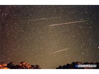17日晚21點起往東北東看 天亮前都可見獅子座流星雨