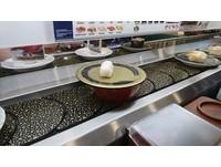 奧客偷吃別人握壽司! 「剩一坨白飯」空盤放回迴轉台