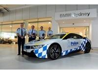 這次不是杜拜 澳洲警方也添增BMW i8超跑警車