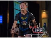世界健力公開錦標賽 陳葦綾破世界紀錄奪金