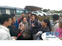 中國領事館派直升機載上百陸客 災區英遊客超哀怨
