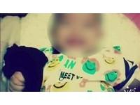 6月大女嬰哭鬧遭摔到脾臟破裂亡 狠媽、情夫收押禁見