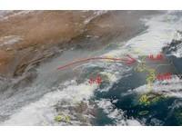 華北霾2至5月飄來台 鄭明典:東南沿海汙染源頻率更高
