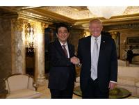 安倍急示好!赴美會川普 日網友揶揄:首相是去朝貢嗎?