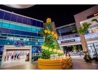 8米聖誕樹與藍海步道 三井林口Outelt冬季點燈超浪漫