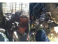 5樓陽台雜物起火 中和6歲男童嗆傷送醫!