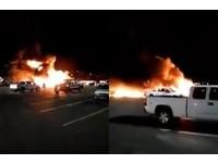 心臟病患轉診...美醫療專機突墜毀 「連續爆炸」釀4死