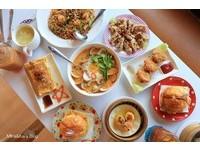 台南港式茶餐廳 人氣料理卡拉雞腿菠蘿包、XO醬蘿蔔糕