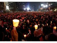 反朴槿惠將吸200萬人遊行 最近地點距青瓦台僅200公尺