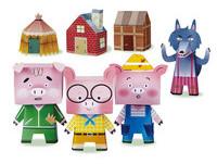 最棒的耶誕禮物!不敗童話《三隻小豬》變3D陪孩子玩耍