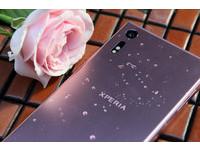 這是Sony Xperia XZ的山茶花粉,內藏高階拍攝技術