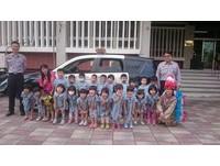 勝利幼兒園參訪南市六分局 慰勞員警辛勞