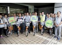 新竹市YouBike北區3站啟用 林智堅:串聯「綠寶石」綠廊