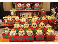 聖誕節限定!日本環球影城「小小兵紅色餅乾盒」超萌