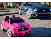 現代小孩有多幸福?玩具電動車居然有循跡防滑!