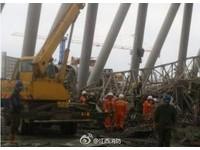 協力奮戰100天 江西豐城電廠施工平台倒塌68人被埋