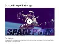 NASA百萬求清除「太空糞」辦法! 讓太空人能任意解放~