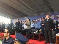 蔡英文親上火線募兵! 台中基地開放市長林佳龍缺席