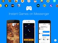 臉書Messenger遊戲新功能:小精靈等經典遊戲任你選!