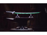 吃我的龍劍!國外鐵匠團隊打造鬥陣特攻「源氏」武士刀