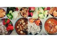 南韓小學「營養午餐」超療癒 主菜是炸蝦、螃蟹也太幸福
