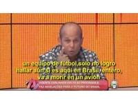 先知?足球隊遇空難 巴西預言家8個月前就上電視警告