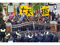 立院警力包圍又架鐵欄杆 江啟臣:若政策得民心怕什麼?