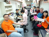 永福101年校慶 辦捐血活動與助學手札義賣