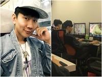 林俊傑上網咖玩遊戲被抓包!