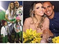 「爸爸死了嗎?」4歲女兒越哭越大聲  巴西球隊妻心都撕裂了