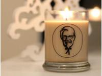肯德基「炸雞香氛蠟燭」11種香料肉味 網:點完睡不著