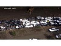 火車出軌超悲劇 97輛BMW受災 損害金額上看1.23億