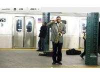 向台灣致敬? 紐約地鐵黑人深情演奏國歌