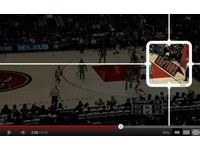 NBA/小心看板!暴龍主場推出3D廣告看板