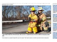「最迷你消防員」身高僅122公分