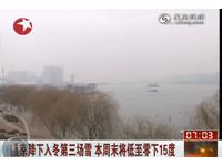 北京周末降至零下15度 創30年來同期低溫紀錄