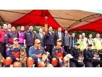 新北警消為搜救犬警犬打造新家 大埔消防分隊正式動工