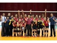 滿場噪音干擾 中華女排亞俱賽苦戰5局不敵哈薩克