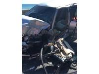 太麻里台9線418公里車禍 遊覽車與自小客對撞4傷