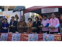 影/出席移民節活動 蔡英文學做印尼「雞絲糯米卷」!
