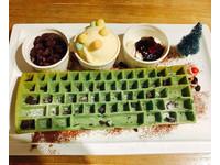 聖誕限定!韓國超人氣「抹茶鍵盤鬆餅」台北吃得到