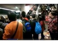 新北耶誕城散場推擠跌倒…女夾板橋車站手扶梯滿頭血 3送醫