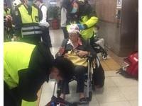 板橋站20歲女頭皮被掀8公分 台鐵:人太多電扶梯過重下滑