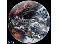 「湯圓地球」紅白相間 鄭明典貼圖說冬至:這張就足夠
