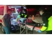 三峽介壽路暗夜車禍 19歲女騎士撞路邊貨車命危
