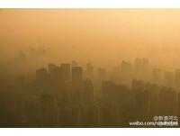 陸受「最強霧霾」侵襲 河北石家莊PM2.5濃度達1015