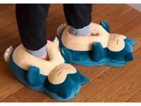 寶可夢推出「卡比獸」地板鞋 踩下去還會打鼾!