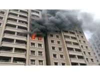 縱火燒自己家 豪宅女利剪刺警:我不想活也不行?