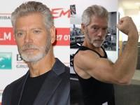 64歲史蒂芬朗一身猛肌超健美 熟男魅力打趴小鮮肉